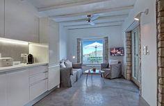 Villa, Kitchen Cabinets, Vanity, Mirror, Furniture, Home Decor, Dressing Tables, Powder Room, Decoration Home