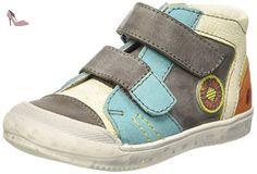 GBB Medard, Baskets garçon, Multicolore (11 Vtc Gris/Turquoise Dpf/Mirko), 25 EU - Chaussures gbb (*Partner-Link)