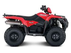 New 2017 Suzuki KingQuad 500 AXi Power Steering ATVs For Sale in Texas. In 1983, Suzuki introduced the world's first 4-wheel ATV. Today, Suzuki ATVs are everywhere. From the most remote areas to the most everyday tasks, you'll find the KingQuad powering a rider onward. Across the board, our KingQuad lineup is a dominating group of ATVs.Whether you're working hard or getting away from it all, the 2017 Suzuki KingQuad 400ASi helps you every step of the way. The fully automatic Quadmatic…