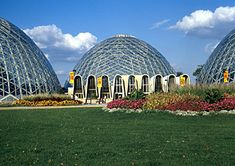 The Mitchell Park Domes - Milwaukee, WI