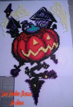 Les perles Hama de Jess — Halloween Town from Kingdom Hearts Chain of...