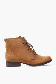 Harlow Half Bootie in Tan