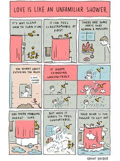 Incidental Comics le strisce a fumetti di Grant Snider | Illustrazione