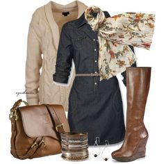 Love this... NEED NEW CLOTHES NOW!  16 Cute Polyvore Combinations For Fall And Winter