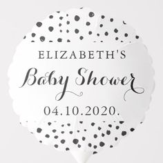 Blow your guests away with Baby Shower balloons from Zazzle! Fill up a room with helium and table top balloons for your party or celebration.