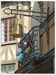 Rouen, France. Mais