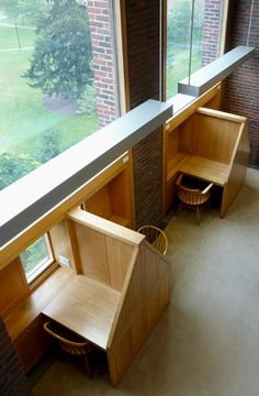Image result for study carrel exeter library