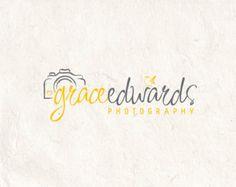 Premade Photography logo design and photography logo Watermark. Bird logo. Camera logo and heart logo.