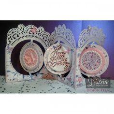 Diesire Create-a-Card Metal Die - Garden Party - Decorative Dies - Die'Sire - Dies - Card & PaperCraft