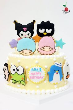 Sanrio Characters Cake Icing cookies decoration