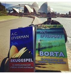 Sydney-serien finns som ljudböcker och i pocket och som e-böcker (Kommissarie Morgan Callaghan). 📚🎧 #skuggspel #borta #efverman #deckare #kriminalroman #serie #boktips #lästips #spänningsroman #sydneyserien #acefverman #böcker #sydney #australien
