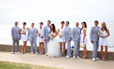 Trends, styles, celebrity dresses and gowns you get can for less. And of course, beautiful real weddings to drool over. Used Wedding Dresses, Celebrity Dresses, Real Weddings, Grey Suits, Gowns, Celebrities, Coat, Inspiration, Beautiful