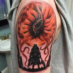 Bloodborne tattoo, Moon Presence, Made To Last Tattoo, Hunter