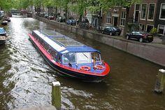 Kanaal, Water, Amsterdam, Holland