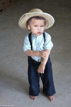 Sweet Amish Boy