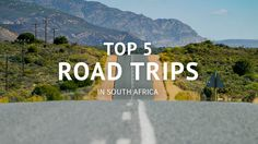 A list of the top 5 road trips to do in South Africa Travel Activities, Heaven On Earth, Day Tours, Cape Town, Road Trips, Adventure Travel, South Africa, Wanderlust, Explore