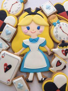 Alice in Wonder Land suger cookies