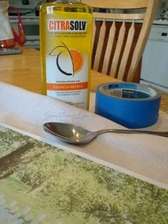 how to transfer a photocopied image to fabric using a cleaning product called Citrasolv.