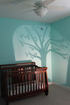 Southern Revivals  I'm not artistic so this is an awesome idea.  Project an image on the wall then trace, draw, paint