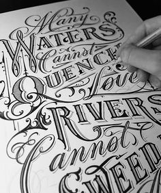 Beautiful lettering by @mateuszwitczakdesigns - #typegang - typegang.com