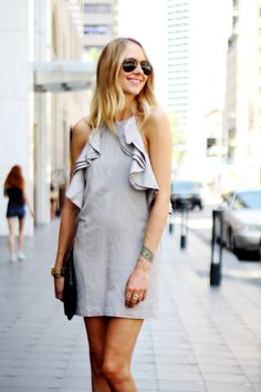 Great simple dress with a touch of flair