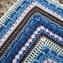 Lost in Time Shawl, free pattern