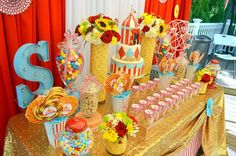 Carnival/ First Birthday Birthday Party Ideas | Photo 9 of 13