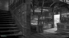 JoyReactor Games,Игры,Titanfall,концепт-арт,James Paick,Scribble Pad Studios