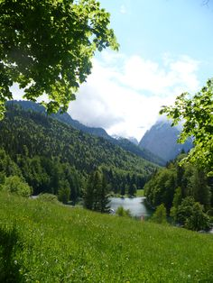 Riessersee, Garmisch-Partenkirchen- watched the sunrise from here a few days ago and it was beautiful!