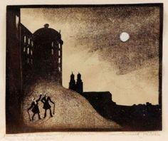 Ernst Vilhelm Nilsson (1892-1937)  Swedish painter and printmaker