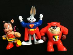 Super Looney Tunes McDonalds Toys 1991 by modernnostalgic on Etsy, $8.00