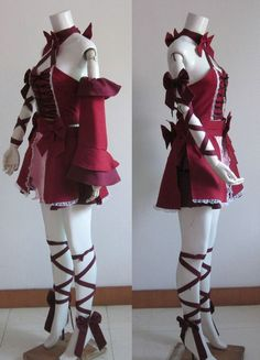 Hatsune Miku: Project DIVA Romeo And Cinderella Cosplay Costume                                                                                                                                                      More