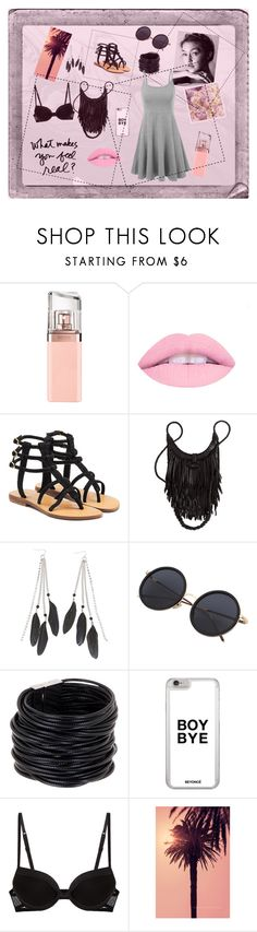 """Simple dresses are the best!"" by toasumjas ❤ liked on Polyvore featuring Polaroid, HUGO, Mystique, Charlotte Russe, Saachi, La Perla and WALL"
