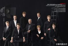 Cast of War horse, Chinese magazine Movie, January 2012