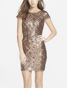 Getting the party started with this sequin number.