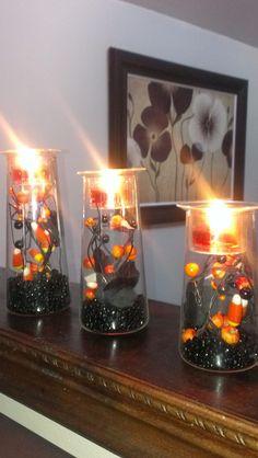 halloween fun using symmetry trio partylite candles photo by laura zammett crumb