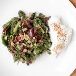 Swiss Chard with Garlic and Yogurt - Recipe