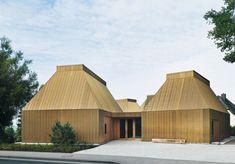 Staab Architekten -Ahrenshoop art museum, 2013. Photos...