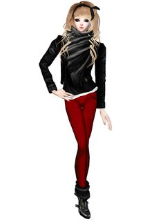 New Outfit  Captured Inside IMVU - Join the Fun!