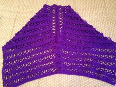 Prayer Shawl for Pancreatic Cancer, Alzheimers, Lupus and Domestic Violence