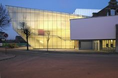 Theater Le Manège   Mons, Belgium   Pierre Hebbelinck - Atelier d'architecture   photo by Marie- Noëlle Dailly