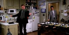 "Amazing. | Guys, There's A Mashup Called ""Hotline Bing"" Of Chandler Dancing To ""Hotline Bling"""