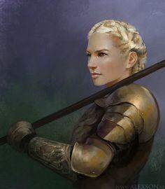 Armor Girl1 by alexson1