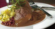 Food Tasting, Pork Recipes, Food And Drink, Pudding, Beef, Koti, Desserts, Taste Food, Drinks