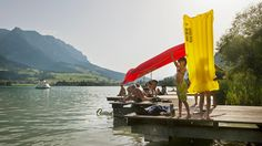 Walchsee Lake, Tyrol - Austria