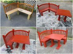 Kids corner bench instructions