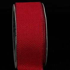 Pack of 4 Scarlet Red South Oxford Wired Craft Ribbon 15W x 80 Yards * Check this awesome product by going to the link at the image.