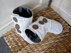 homemade boots for your little one. This gal is awesome!