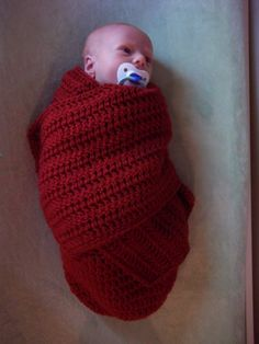 Crochet Pattern - Hold Me Cocoon Swaddler - PDF Pattern - Newborn and 3 to 6 Months - Pattern Only, Not a Finished Item