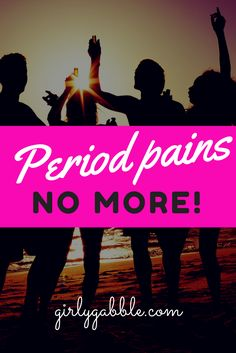 Want to get rid of them stomach curling period pains? Here's how.. Thank us later ☺